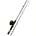 "Zebco / Quantum DUCK DYNASTY 56"" 2PC ML SPINCAST COMBO DDSC562ML,10,FB6"