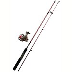 "Zebco / Quantum LADIES 20SZ 5'6"" SPINNING COMBO W/TACKLE SPLADYHTA,08,BP6"