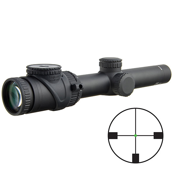 TRI ACCUPOINT 1-6X24 APT GERMAN #4 CROSSHAIR GRN