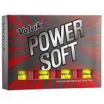 Volvik Power Soft Golf Balls Dozen - Gloss Yellow