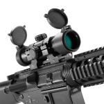 Barska 1x30mm 7In. Tactical Long Red Dot Scope