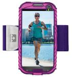 Nathan Sonic Boom Armband For Samsung Galaxy S3 Pink/Purple