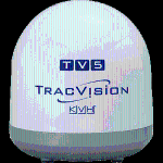 TracVision TV5 Empty Dome/Baseplate