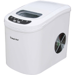 Ice Maker, 27 lbs/day, Portable, White