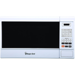Microwave,1.3cf Countertop, 1KW, White
