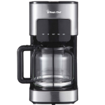 Coffee Maker, 12 Cup, Stainless