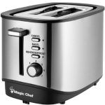 2 Slice Toaster, Stainless