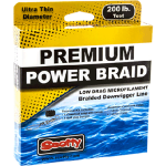 Power Braid Downrigger Line, 200#, 400'