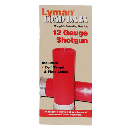 Lyman Load Data Book 12 Gauge 9780000