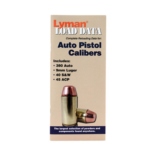 Lyman Load Data Book Semi-Auto 9780004