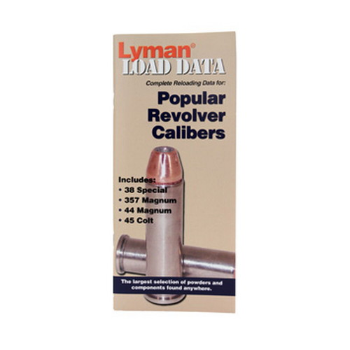 Lyman Load Data Book Revolver 9780006