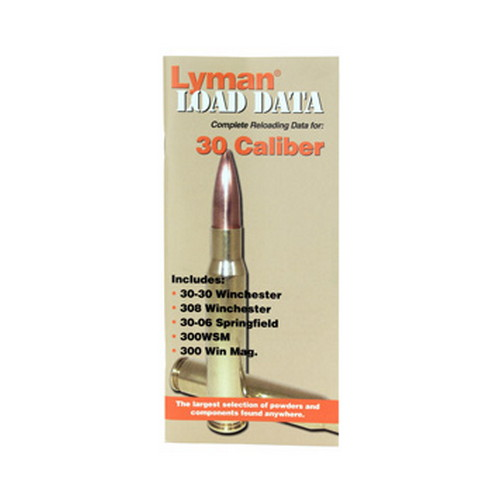 Lyman Load Data Book 30 Caliber 9780014