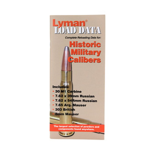 Lyman Load Data Book Old Military Calibers 9780016