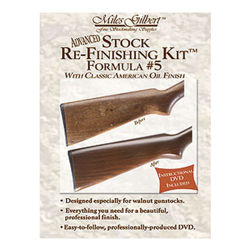 Wheeler Advanced Stock Re-Finishing Kit,Formula 5 139021