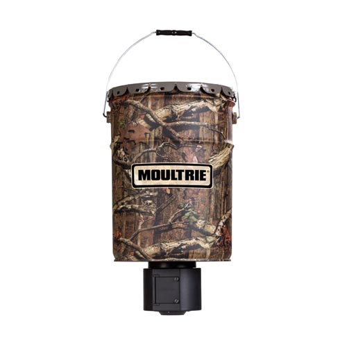 Moultrie Feeders 6.5-gallon Quiet Feeder MFG-12653