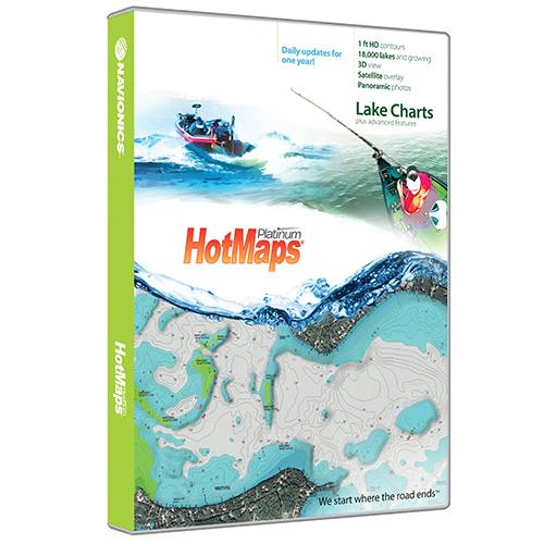Navionics HotMaps Platinum  South MSD/HMPT-S6