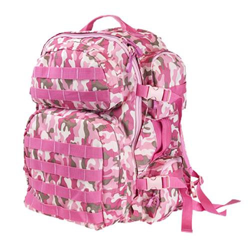 NcStar Vism Tactical Backpack/ Pink Camo CBPC2911