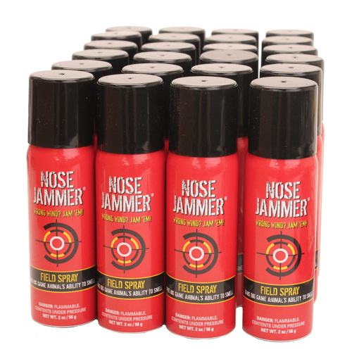 Nose Jammer 2oz Aerosol Field Spray,Opn Stk Case 24 3032