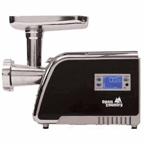 Open Country 500W Digital Food Grinder FG-325SK