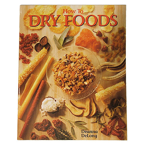 Open Country How to Dry Foods, Cookbook HP-9
