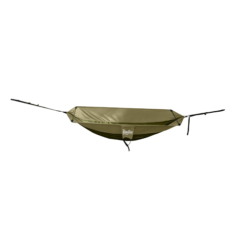 PahaQue Single Hammock Olive/Khaki HM100