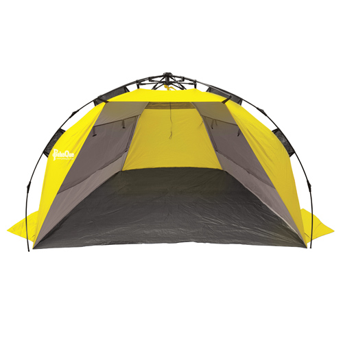 PahaQue Surfline QuickPitch Beach Cabana Grey/Ylw PQF300