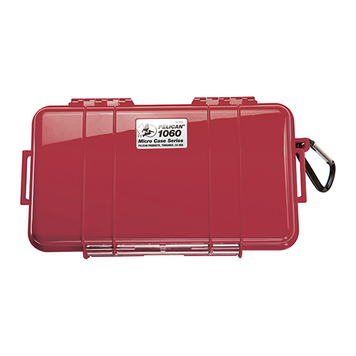 Pelican 1060, Micro Case Red with Black Liner 1060-025-170
