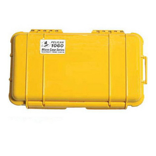 Pelican 1060, Micro Case Yellow with Black Liner 1060-025-240