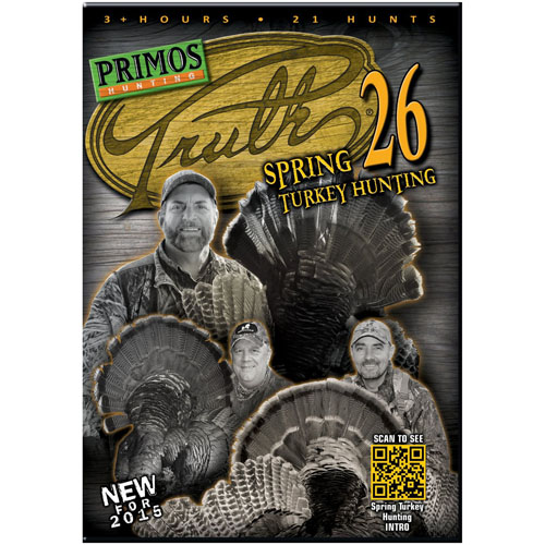 Primos Truth 26 Spring Turkey Hunting, Dvd,Loose 40261