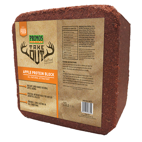 Primos Hunting Take Out Apple Protein Block 20# 58732