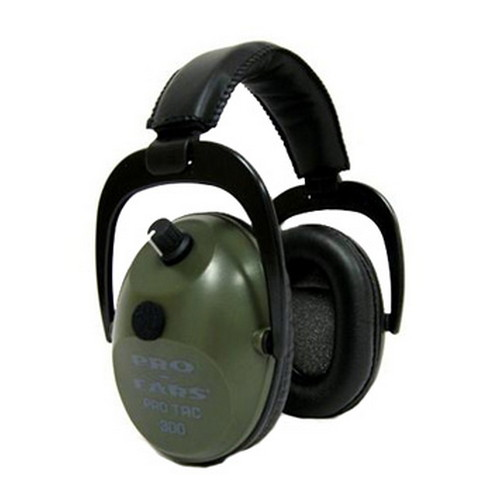 Pro Ears Pro Tac Plus Gold Green GSPT300GREEN