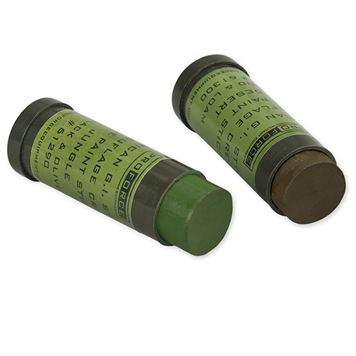 Proforce Equipment Camcon Face Paint Woodland:Green&Loam 2Pk 61282