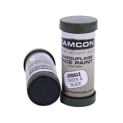 Proforce Equipment Camcon Face Paint Jungle: Green & Blk 2Pk 61292
