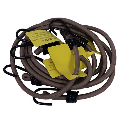 Proforce Equipment Camcon HvyDty Bungee Cords Tan 4Pk 71080