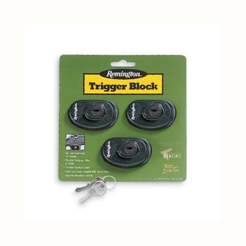 Remington Accessories Trigger Block (keyed alike)3 Pack 19439