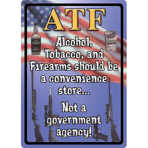 Rivers Edge Products Atf Tin Sign 12