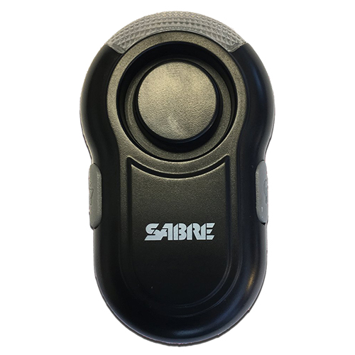 Sabre Personal Alarm with LED Light - Black PA-CLIP-BK