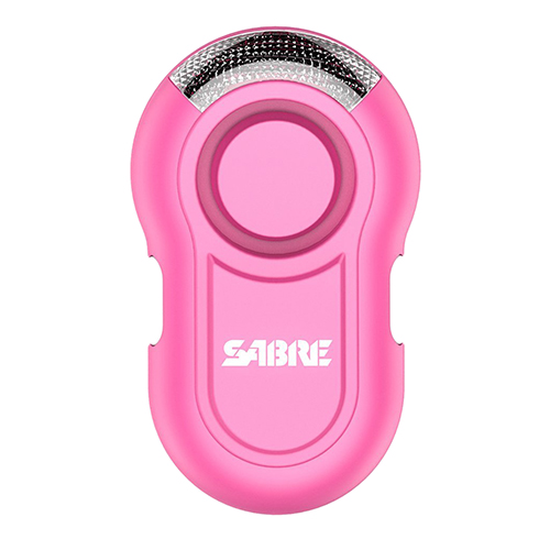 Sabre Personal Alarm with LED Light - Pink PA-CLIP-PK