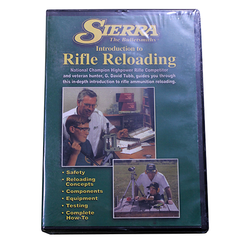 Sierra Bullets Beginning Rifle Reloading DVD 0095DVD