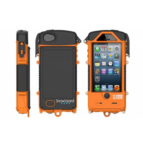 Snow Lizard SLXtreme for iPhone 5 - Signal Orange CD-SLSLXAPL05OR