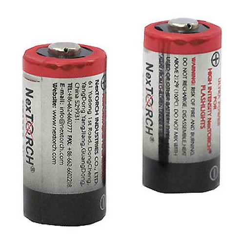 TacStar Industries Replace Batteries: 2Pk 3V Lithium 1081372