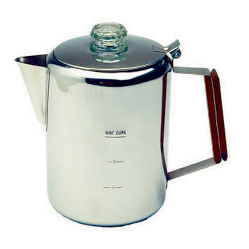 Tex Sport Percolator, Stainless Steel 9 Cup 13215