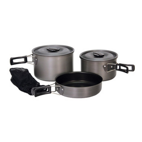 Tex Sport Cook Set, Black Ice The Scouter H. A. QT 13412