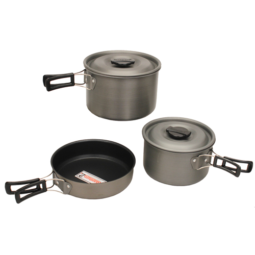 Tex Sport Cook Set, Black Ice The Hiker H. A. QT 13413