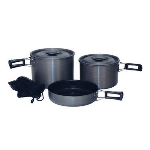 Tex Sport Cook Set Black Ice Trailblazer H. A. QT. 13414