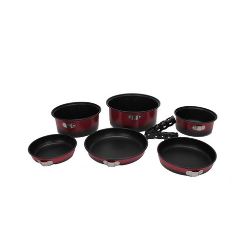 Tex Sport Cook Set, 7 Pc. Kangaroo 13446