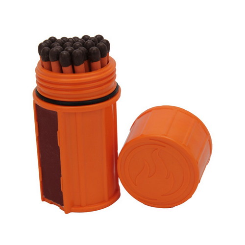 UCO Storm Proof Match Kit Orange MT-SM-CONT-ORANGE