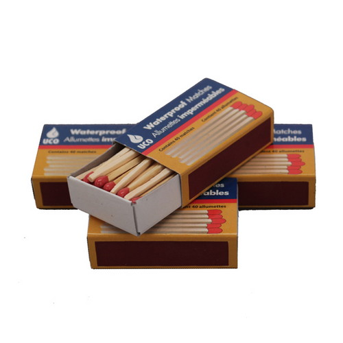 UCO Waterproof Matches /4 MT-WAT-4PK
