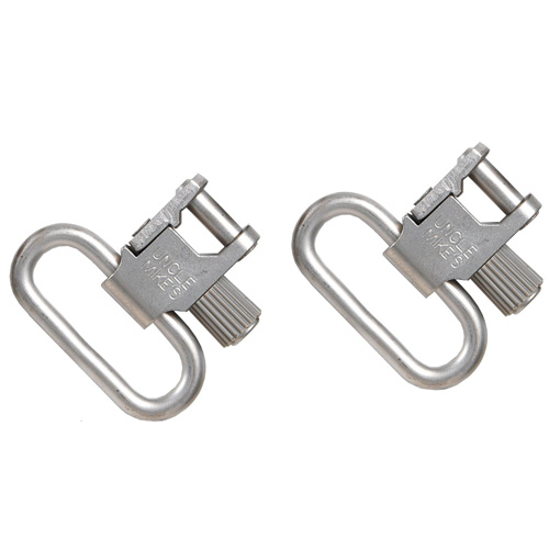 Uncle Mikes QDSSBL Nickel Swivels 1