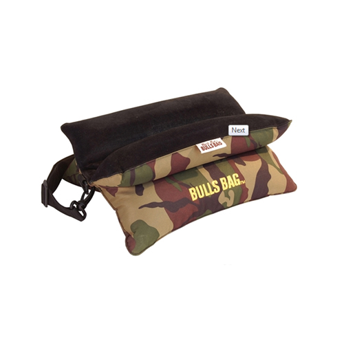 Bulls Bag/Uncle Buds Bench Camo Poly/Suede w/Carry Strap 15